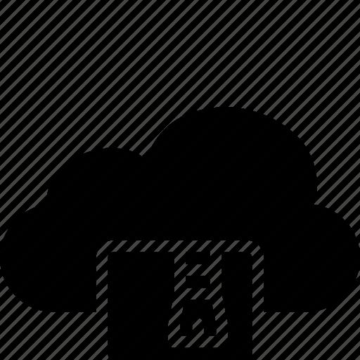 cloud, functions, zip icon