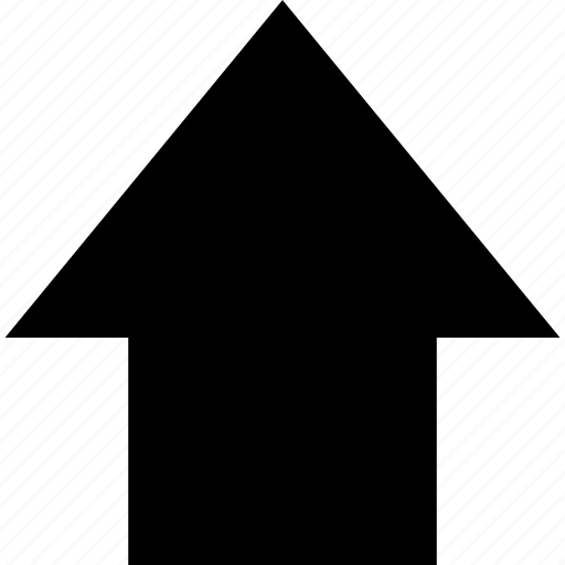 arrow, pointer, up, ux icon