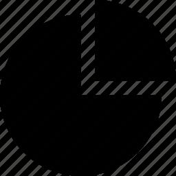 chart, graphic, information, pie icon