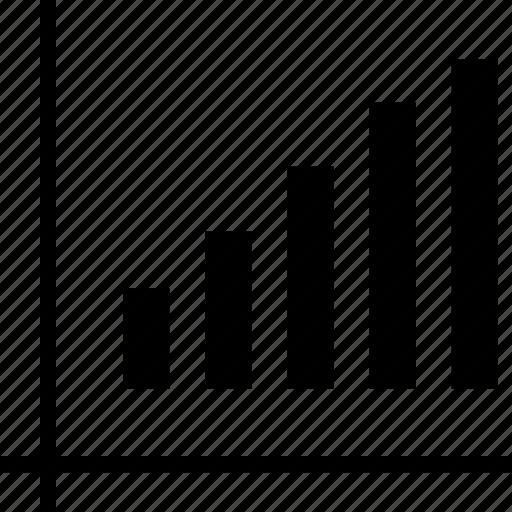bars, data, high icon