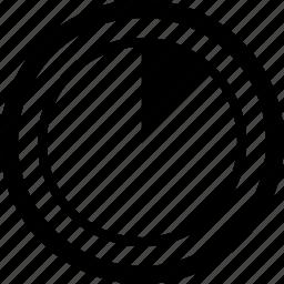 data, graph, person, report icon