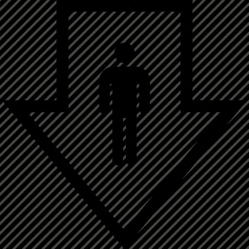 graphic, information, pointer icon