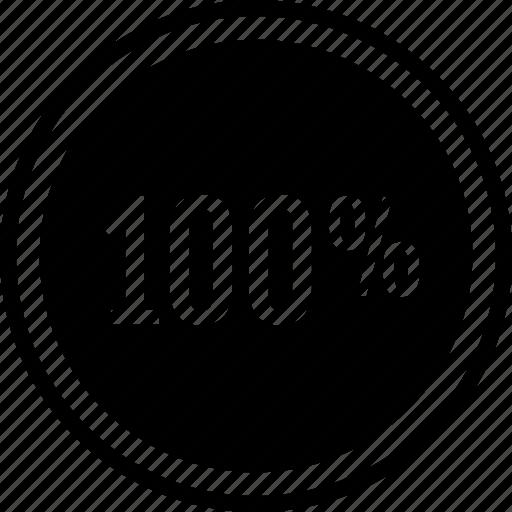 hundred, one, revenue icon