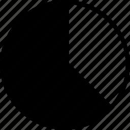 chart, information, pie icon