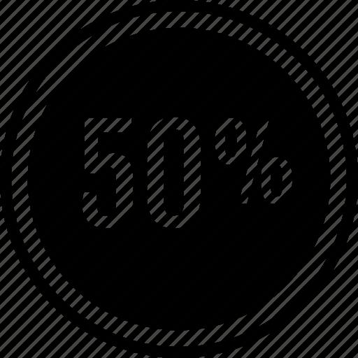 graph, percentage, rate icon