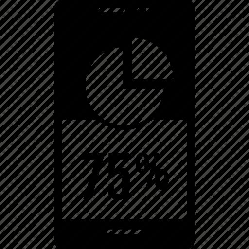 five, percent, seventy icon
