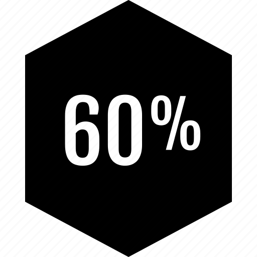 data, percent, point, sixty icon