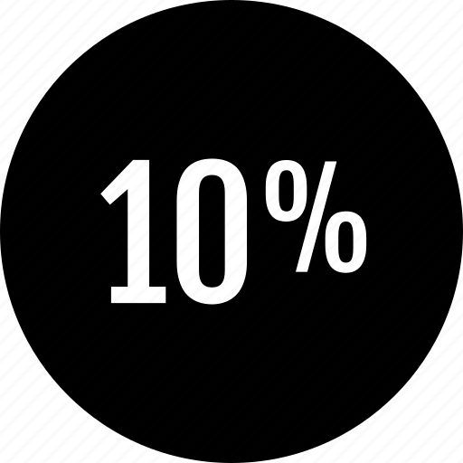 data, percent, point, ten icon
