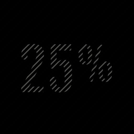 five, percent, twenty, user icon