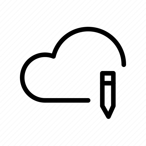 backup, cloud, computing, edit, ftp, icloud, storage icon