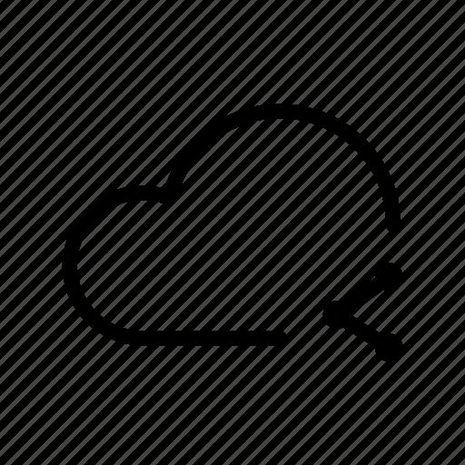 backup, cloud, computing, drive, ftp, icloud, share icon