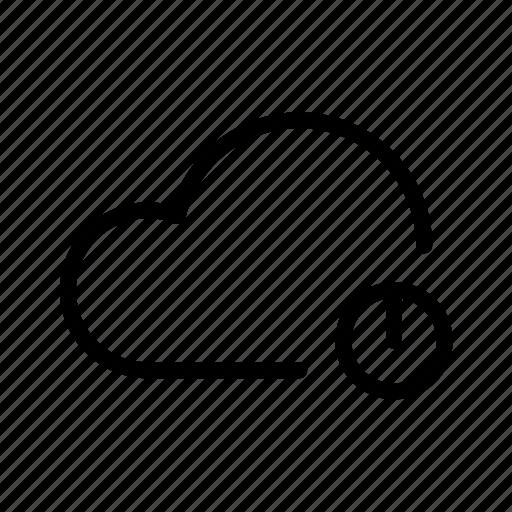 Backup, computing, drive, ftp, icloud, shutdown, storage icon - Download on Iconfinder