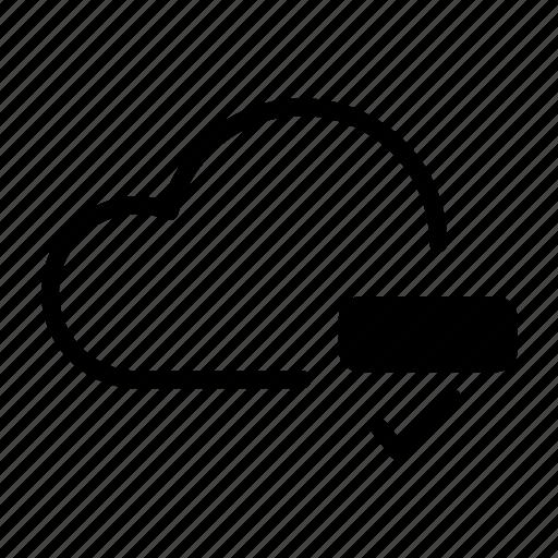 backup, cloud, computing, drive, ftp, icloud, storage icon