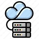 cloud, communication, internet, network, storage icon
