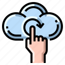 cloud, data, reload, reset, update icon
