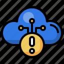 error, notice, warning, cloud