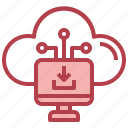computer, download, computing, cloud, hosting