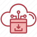 download, data, cloud, computing, multimedia, option