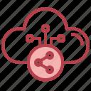 share, network, cloud, computing, ui, storage