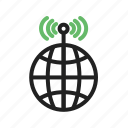 antenna, cell, communication, global, signal, tower icon