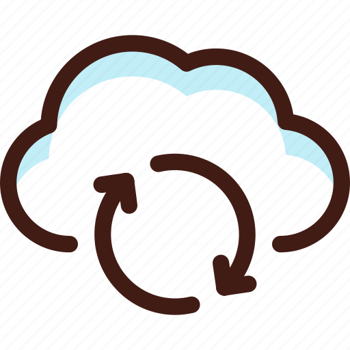cloud, data, host, refresh, server, sync, update icon