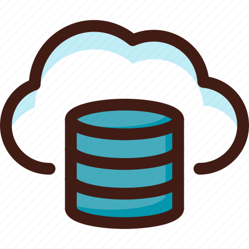 archive, cloud, data, file, host, server, sync icon