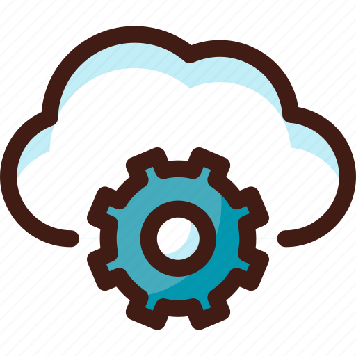 cloud, data, host, options, server, settings, sync icon