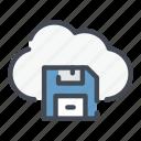 archive, base, cloud, data, save, service, storage