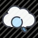 archive, cloud, find, search, service, storage