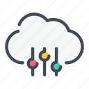 archive, change, cloud, options, service, settings, storage icon