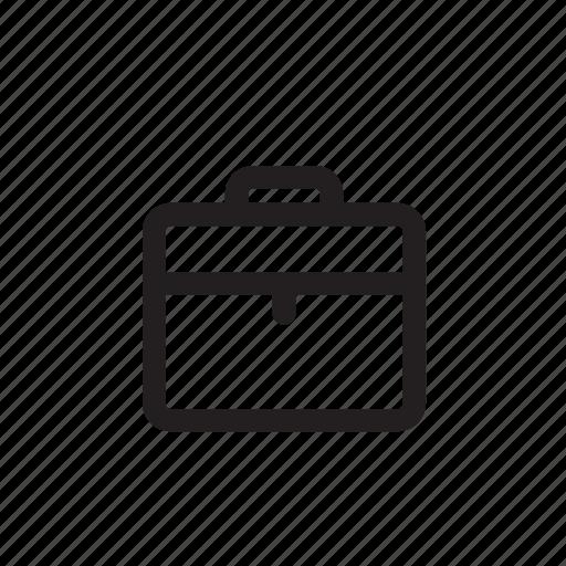 align, archive, cloud, delete, manage, suitcase icon