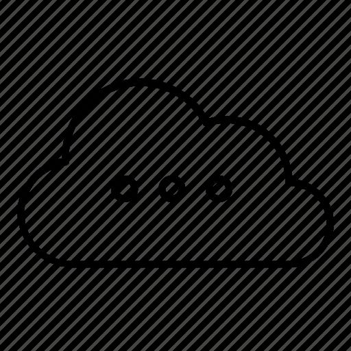 cloud, loading, processing, uploading, wait icon