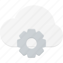 cloud, computing, settings, setup icon