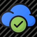 check, cloud, network, storage, data