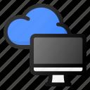 cloud, computer, storage, data, network