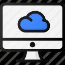 cloud, computer, storage, network