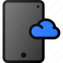 cloud, phone, storage, data, network, mobile