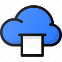 cloud, print, storage, data, network