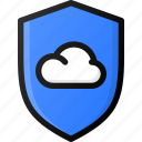 cloud, protection, storage, data, network