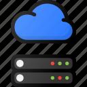 cloud, server, storage, data, network