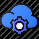 cloud, settings, network, storage, data