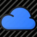 cloud, storage, data, network