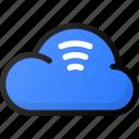 cloud, stream, storage, data, network