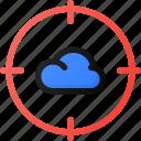 cloud, target, storage, data, network