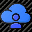 cloud, user, network, storage, data