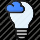 think, cloud, network, storage, data