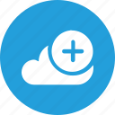 add11, big, cloud, data, database, online, storage icon