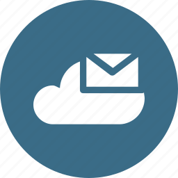 big, cloud, data, database, mail, online, storage icon