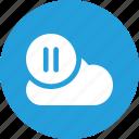 cloud, data, database, online, resume, storage icon