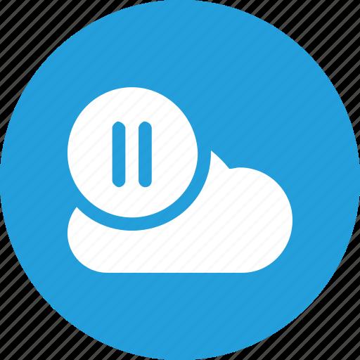 big, cloud, data, database, online, resume, storage icon
